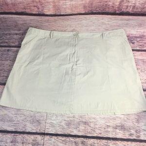 White stag Women's Skirt Skort Plus Size 26
